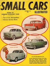 Small Cars Magazine September 1958 Triumph Opel Austin 080817nonjhe