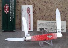 2009 Case 1 of 100 SALMON BONE Whittler Knife! SUPER RARE! Amazingly Beautiful!