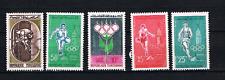 Tunesien 1960 Satz 562/66 Olympische Spiele/Sport postfrisch