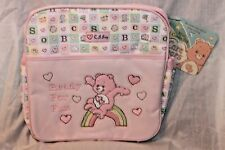 """NEW WITH TAG CARE BEARS  PINK MINI COOLER 11"""" X 11"""""""