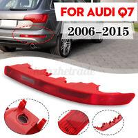 RH Right Side Rear Bumper Reverse Tail Fog Light Lamp Lens Red For Audi Q