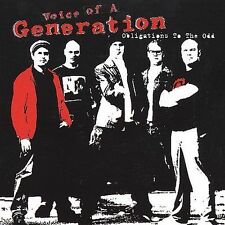 FREE US SHIP. on ANY 2 CDs! NEW CD Voice of Generation: Obligations to the Odd