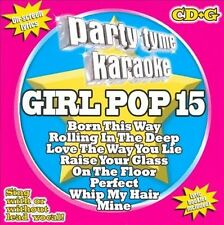 Party Tyme Karaoke: Girl Pop 15 (CD+G) by Various Artists