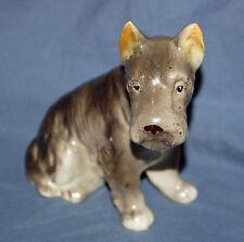 Occupied Japan Grey Fox Terrier Ucagco Porcelain Figurine