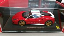 FERRARI 488 GTB Red Corsa Race Version lim.ed.16 pcs 1/18 P18106NLV BBR MODELS