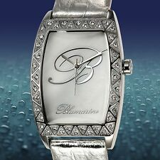 NEW Blumarine 62622853 Womens White Mother of Pearl Dial Swarovski Watch ladies