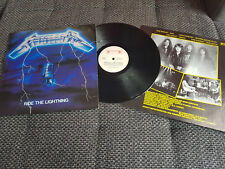 Metallica-Ride The Lightning LP,1984,Thrash Metal,Slayer,Anthrax,Megadeth,Exodus