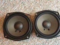 "Pair Pioneer? 6"" Midrange Speaker Replacement DIY 6 Ohm C5070a T3c 35 /70 Watts"