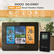DIGOO Wireless Forecast Weather Station Temperature Humidity w/ Outdoor