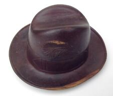 Vintage Wooden Hat Inkwell~Black Forest? Ink Well