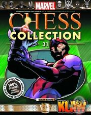 Marvel Chess Figurine Magazine #31 Klaw Black Pawn Eaglemoss