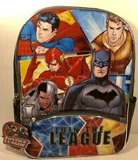 Dc Comics Justice League, Join The League , 16� Backpack. New, Free Shipping