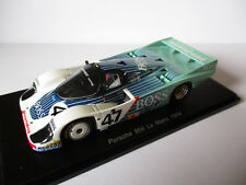 """Spark 1:43 Porsche 956 No.47 Lassig/Fouche/Graham """"Boss""""  Le Mans 1984 OVP"""