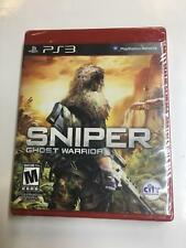 Sniper Ghost Warrior for Playstation 3 PS3 Brand New Factory Sealed