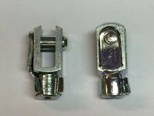 Clevis M5  G 6 x 12/M5 with snap lock pin zinc coated  QUANTITY-2