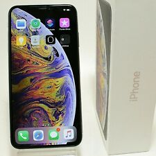 Apple iPhone XS Max - 64GB - Silver (AT&T) A1921 (CDMA + GSM) Good Condition