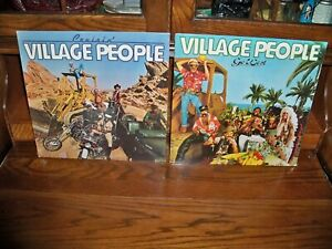 Village People-Go West-Cruisin'-Rock-Sealed-Lot-2-Vinyl Record Album LP