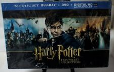 Harry Potter Hogwarts Collection (Blu-ray + DVD + UltraViolet) NEW FREE SHIP!