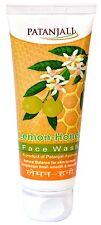 Patanjali Herbal Lemon Honey Face Wash - 60 gm