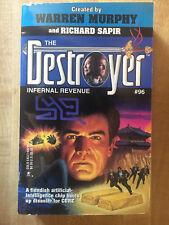 DESTROYER #96 Infernal Revenue Warren Murphy Richard Sapir 1st 1994 L@@K WOW!!!