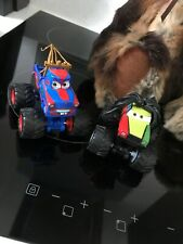 Disney Store CARS TOON  RASTA CARIAN MONSTER TRUCK  AND TORMENTOR TOY FIGURE