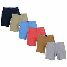 Tommy Hilfiger Para Hombre Pantalones Cortos Classic Fit Stretch Pantalones Casual Cremallera Volar Nuevo Nuevo Con Etiquetas