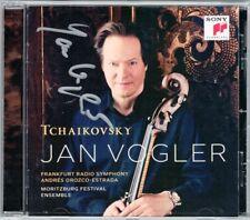 Jan VOGLER Signed TCHAIKOVSKY Rococo Variations Souvenir de Florence OROZCO CD