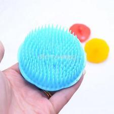 2 Silicone Shampoo Scalp Shower Body Washing Hair Massage Massager Brush Comb UK