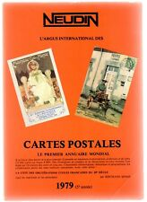 Catalogue Neudin 1979, l'argus international des cartes postales