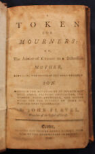 Original 1795 A Token for Mourners By John Flavel