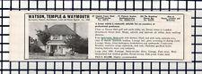 C6651) Thorpe Hall Golf Course Essex House Sale Advert - c.1964 Cutting