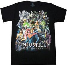 Official DC Comics Injustice Gods Among Us Adult T-Shirt - Batman Superman Flash