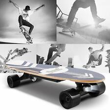 Elektro Skateboard E-Skateboard Elektrisches Longboard Funkfernbedienung Schwarz