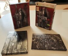 GEARS OF WAR 2 - XBOX 360 - LIMITED EDITION STEELBOOK + BOOKLET EPIC GAMES ITA