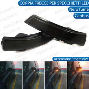COPPIA FRECCE LATERALI PROGRESSIVE A LED PER FORD FOCUS MK2 CANBUS DINAMICHE