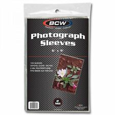 1500 BCW 6x9 Photo Soft Poly Sleeves Acid Free Print Holder Archival