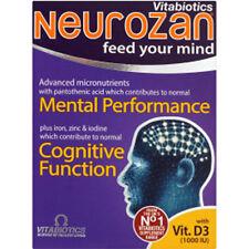 Vitabiotics Neurozan Mental Performance Cognitive Function (30 Tablets)