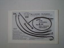 advertising Pubblicità 1984 CESARE ALLEGRI - MILANO