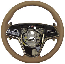 2015 Cadillac CTS Steering Wheel Cashmere Leather New OEM W/CC 23193068 23455830