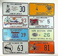 Illinois Special Event Old License Plate Garage Man Cave Auto TagS PICK-A-PLATE