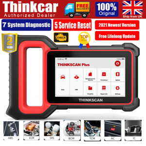 Thinkscan Car OBD2 ECM ABS SRS EPB SAS DPF Scanner Reset Service Diagnostic Tool