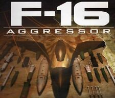 F16 AGGRESSOR - Classic F-16 Combat Flight Simulator Rare PC Game - NEW CDrom