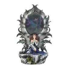 Fairy Dragon Lighted Figurine Mythical & Magic Home Decor New