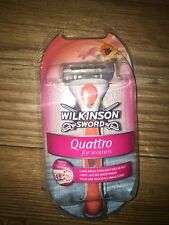 Wilkinson Sword Quattro Razor For Women