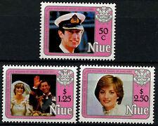 Niue 1982 SG#454-6 Princess Of Wales 21st Birthday MNH Set #D38014
