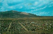 Montana, Mt, Red Lodge, Town View Chrome Postcard