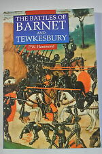 Book. The Battles of Barnet and Tewkesbury by P. W. Hammond (Paperback, 1993)