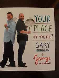 Your Place or Mine - Gary Mehigan & George Calambaros Taste Mini Cookbook
