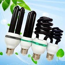 15W~40W UV Ultraviolet Blacklight Low Energy CFL Light Bulb ES, E27 Screw Lamps