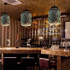 3D Glass Hallway Pendant Lighting Island Chandelier Lamp Restaurant Ceiling Lamp